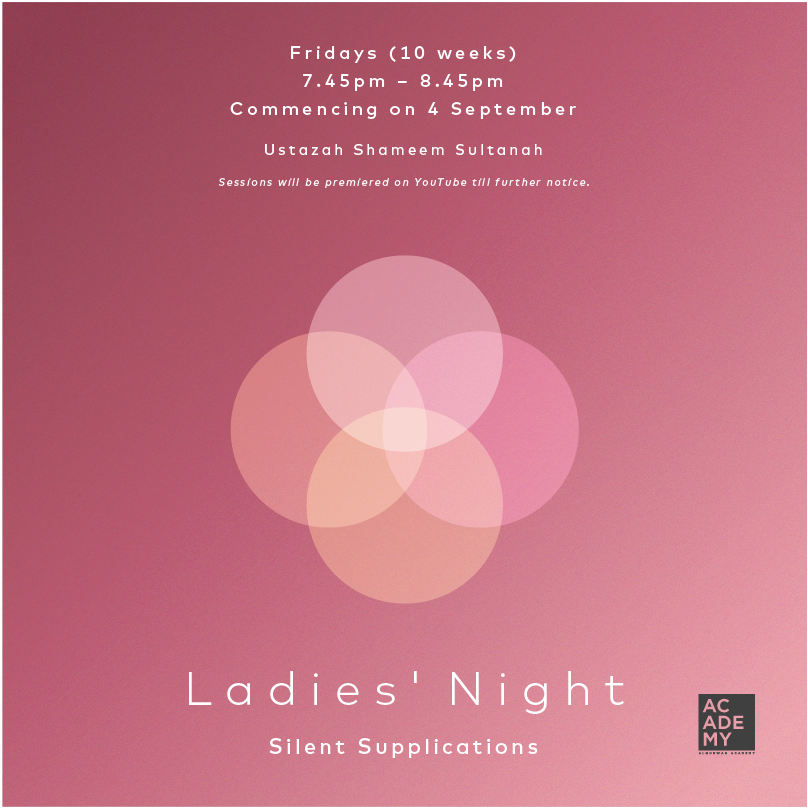 LADIES' NIGHT:<br /> SILENT SUPPLICATIONS