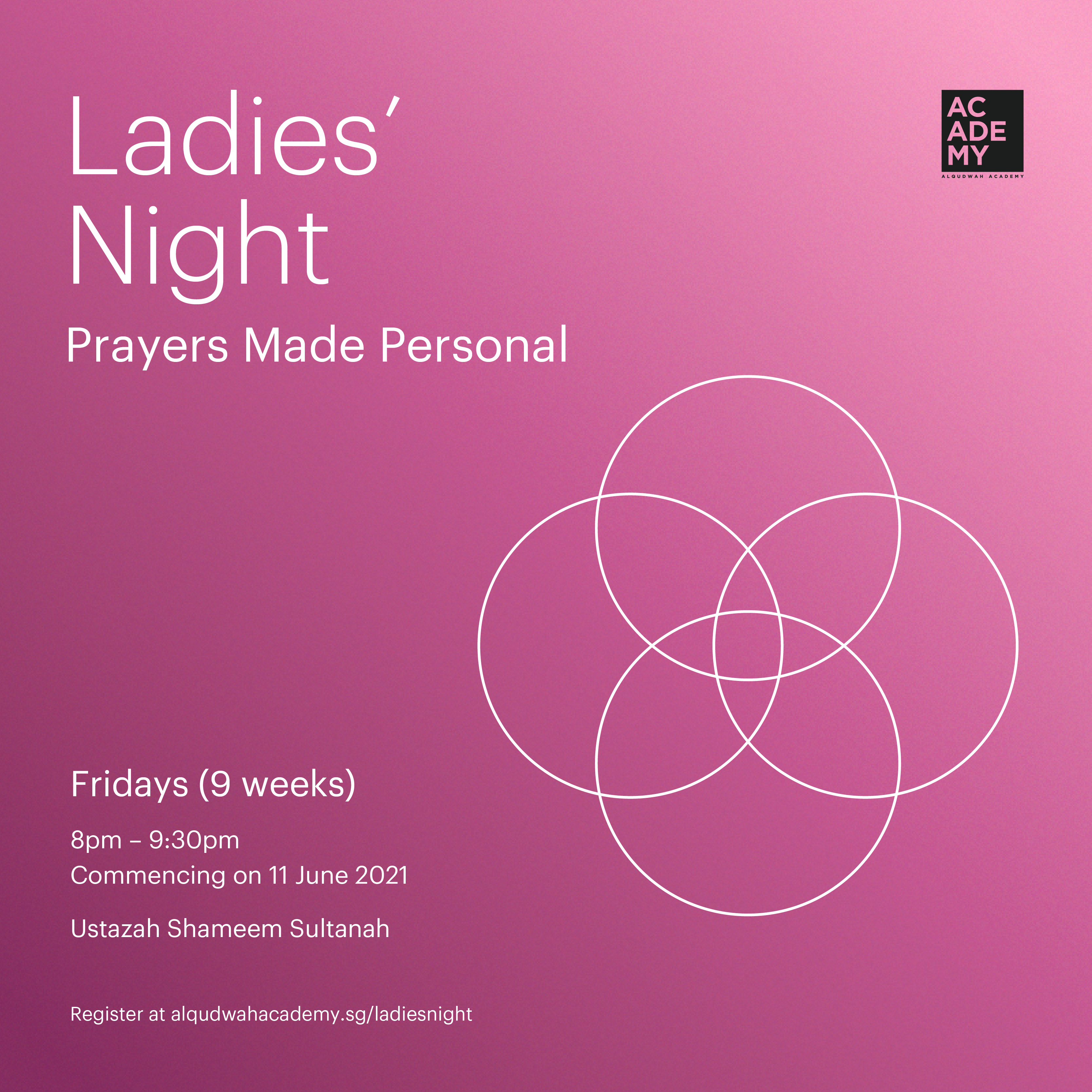 LADIES' NIGHT:<br /> PRAYERS MADE PERSONAL